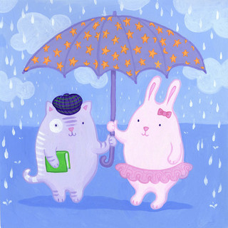 Two Under One Umbrella
