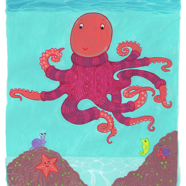 Octopus In a Sweater