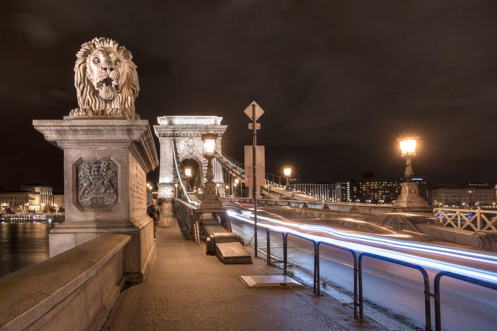 Széchenyi Chain Bridge Budapest, Hungary