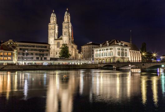 Großmünster Church Zurich, Switzerland