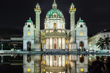 Karlskirche Vienna, Austria