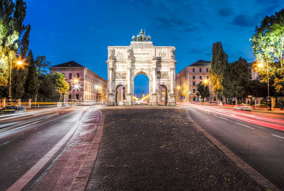 The Siegestor Münich, Germany