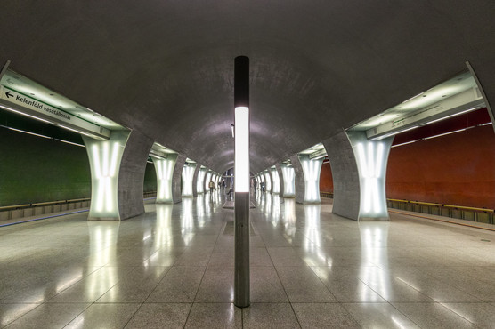 Rákóczi tér subway station Budapest, Hungary