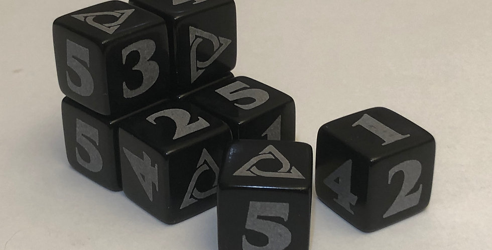 Genesys Project 8 Pack Dice Set