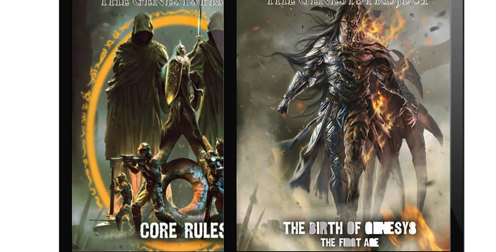 Core Rules + Birth of Genesys 1st Age Bundle