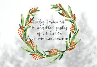 Kellemes ünnepeket kíván a KIKK Egyesület!