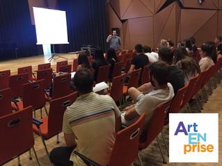 ArtENprise barcamp Pécsi Tudományegyetem Művészeti Karán