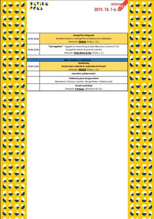 DesignPécs események