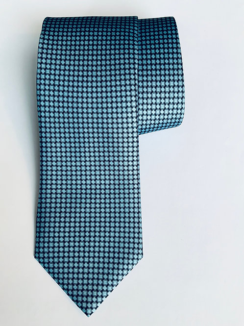 Small Circle Vivid Blue Tie