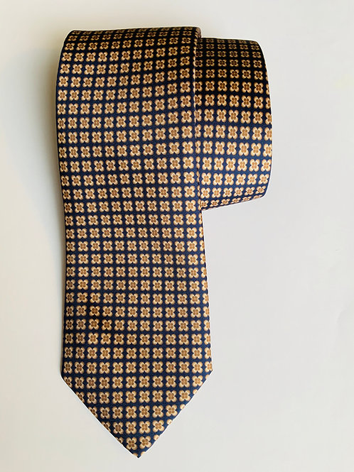 Brown Toupie Tie