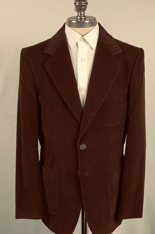 BOY Brown Velvet Corduroy Blazer