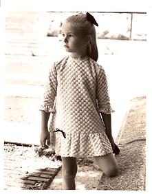 Modello Bambina Collezione vestitino 2.t