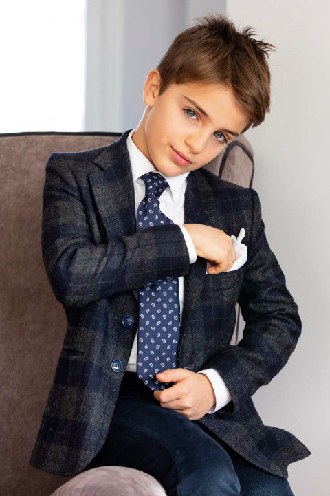 Elegant Two Button Unfolded Single Breast Wool Jacket. Made in Italy.