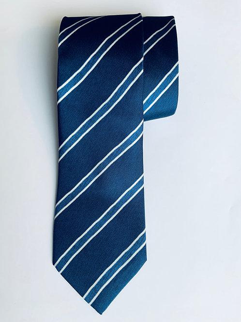 Regimental Blue Tie