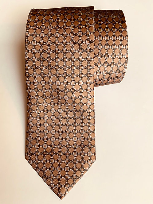 Brown Chain Tie