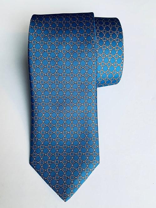Blue Chain Tie