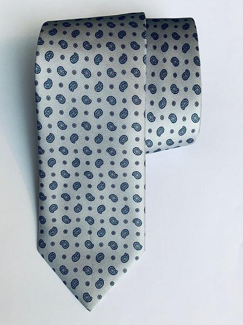 Silver Indian Leaf Tie
