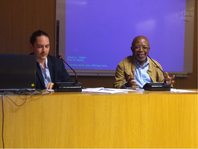 Table ronde avec Elikia MBOKOLO historien de l'Afrique et Nicolas Courtin AFD- rédacteur en chef adjoint de la revue Afrique Contemporaine