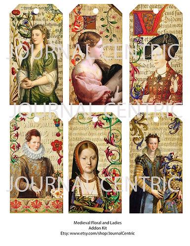 Medieval Digital Journal Add-On Kit