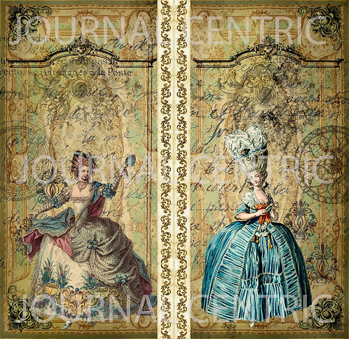 Rococo French Digital Kit: TN Size