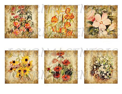 Floral Post Digital Journal Add-On Kit