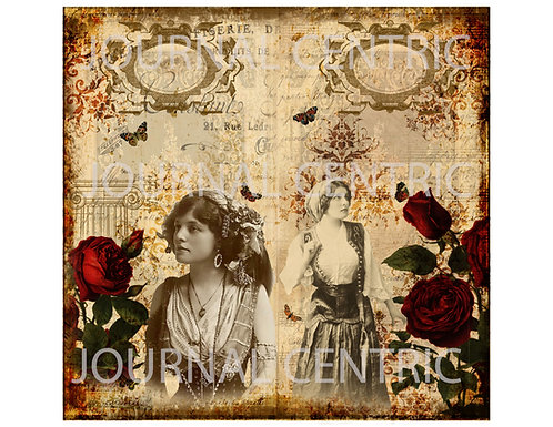 Gypsy Rose Digital Journal Kit: TN Size
