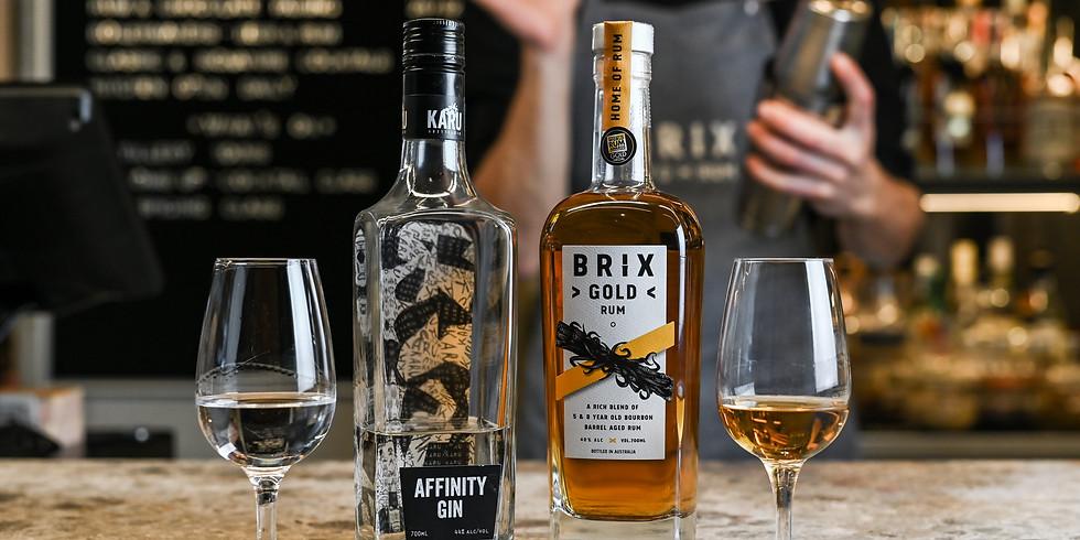 Brix X Karu - Distillery Buddies! (New Date TBD)