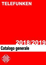 Catalogo Telefunken 2018-2019 copertina.