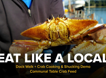 Dock Walk + Crab Feed