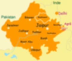 Carte Rajhastan