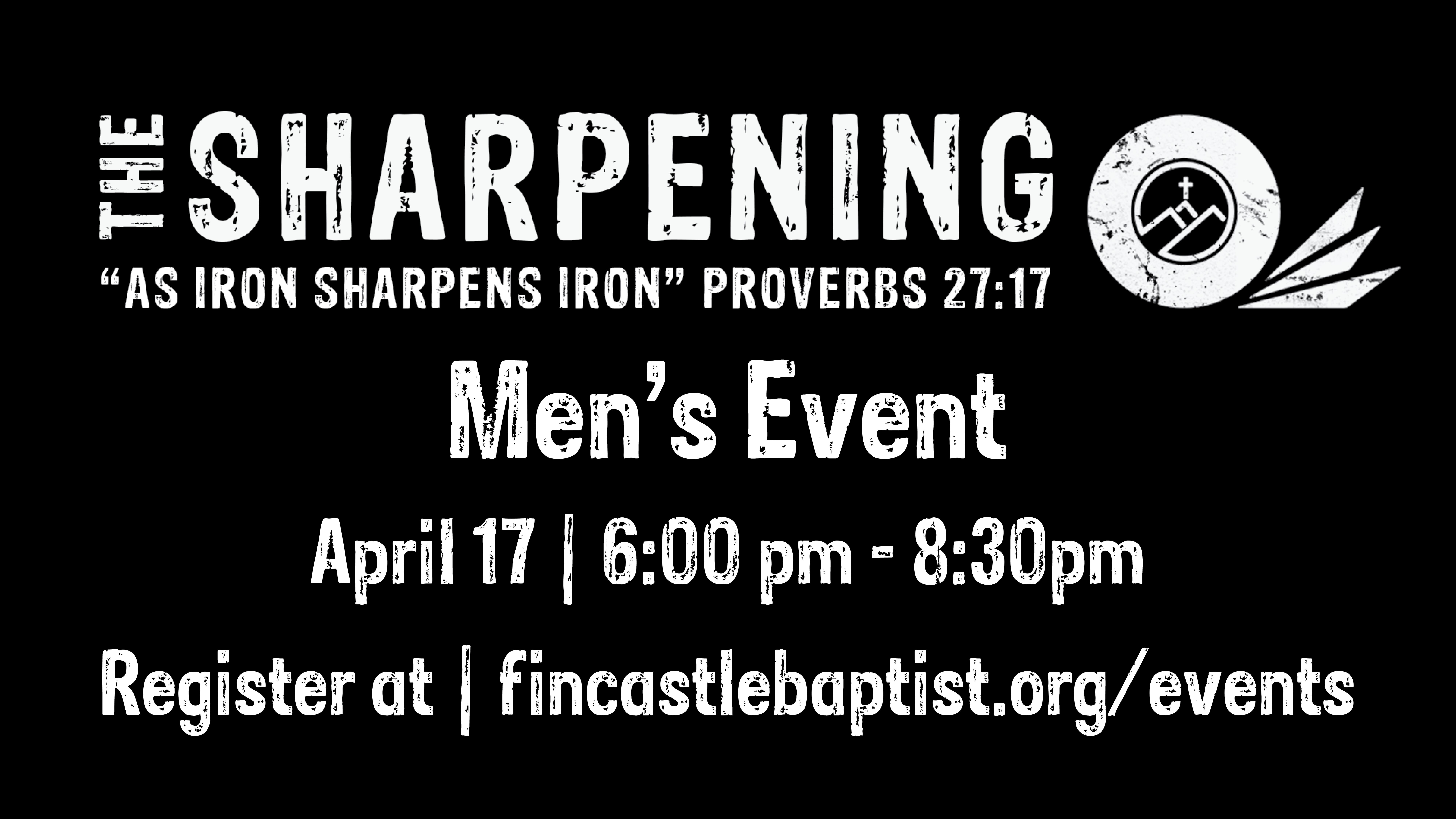 Sharpening Event