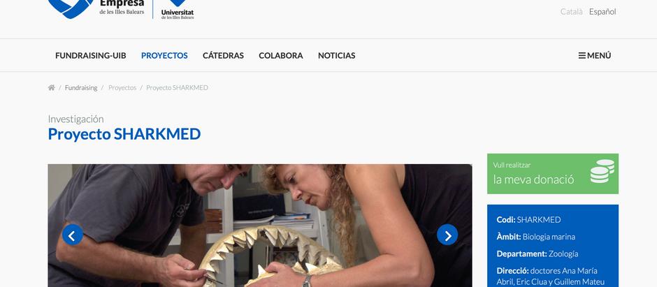 Shark Med en el Fundraising de la Universitat de les Illes Balears