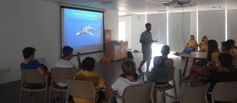 Shark Med colabora en el Dive Camp de s'Arenal
