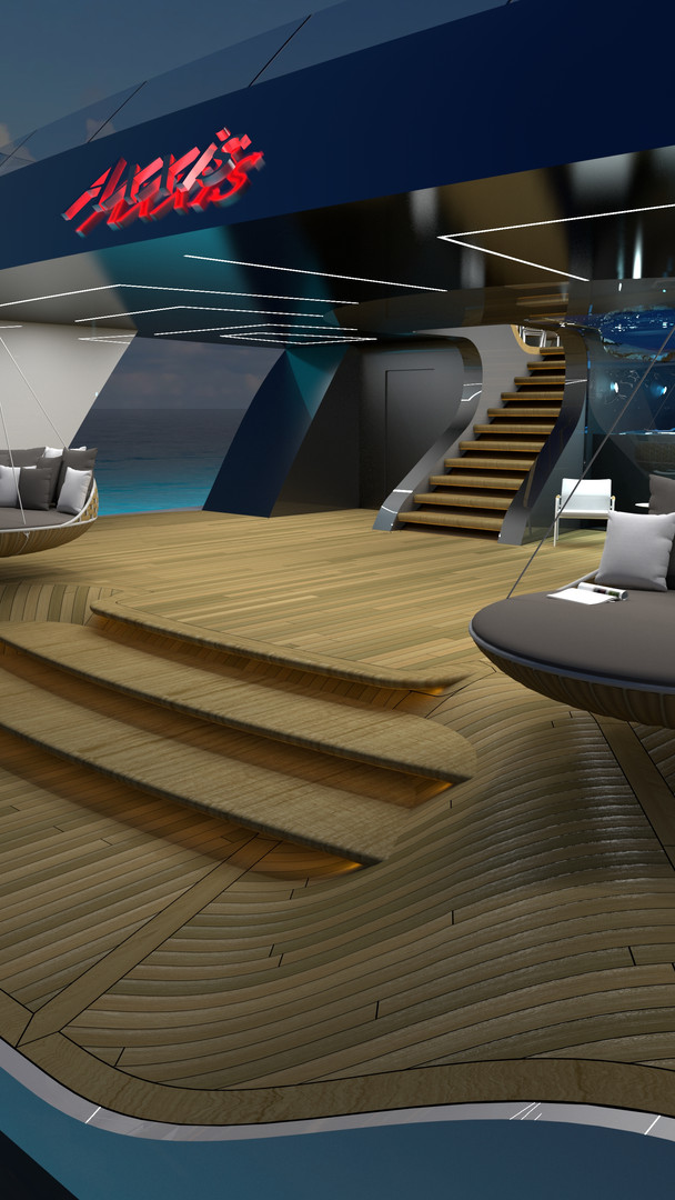 A550_3DModel_WithInterior-EVO-AT NIGHT B