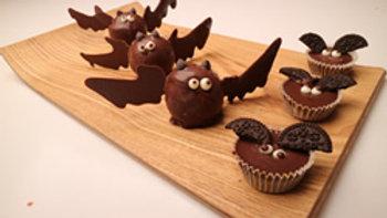 蝙蝠棒棒糖蛋糕&蝙蝠糖果