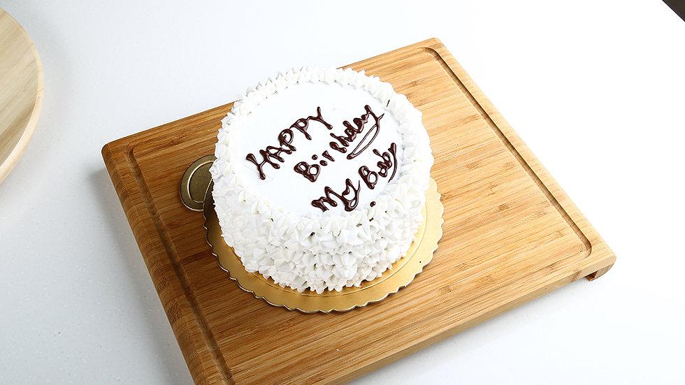 經典生日蛋糕
