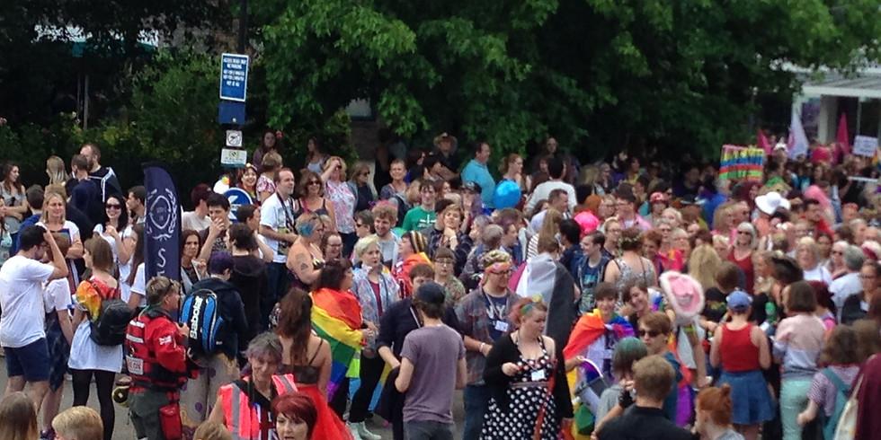 Salisbury Pride UK Parade 2021