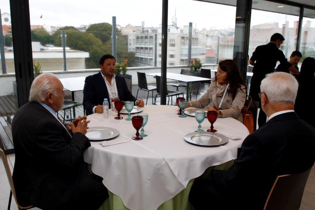 Almoço Dr. Mário Matos dos Santos; Sr. C