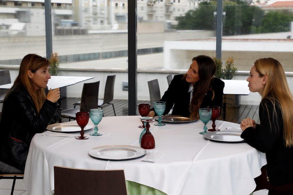 Almoço Drªs Maria João Leal; Cristiana S