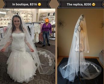 Best priced veils