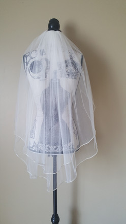 Two tier veil