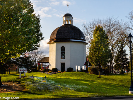 The Silent Night Chapel in Frankenmuth Michigan.