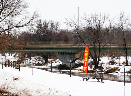Flooding starts for Rock Rapids, Iowa