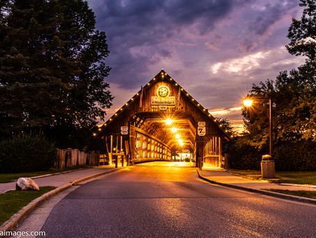 The Holz-Brücke in Frankenmuth, Michigan