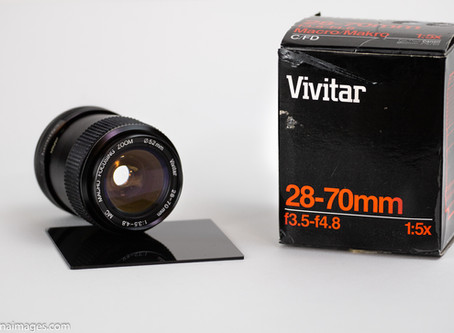 Reviewing the Vivitar 28-70 f3.5-f4.8 lens