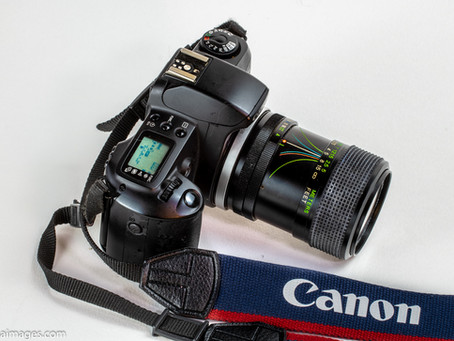How to connect an FD lens to your EOS Camera.