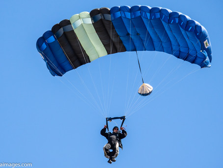 Jumping into skydiving photography at Skydive Adventures in Luverne Minnesota.