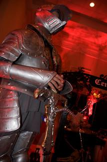 Knight In Armor Fountain