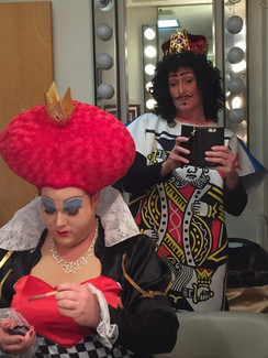the drag queen of hearts and her king