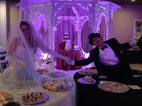 Bride and Groom Living Tables